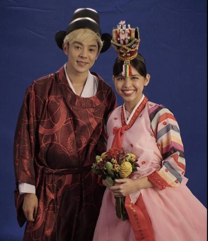 Maine & Xander Korean costume