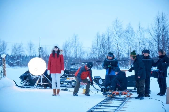behind the scenes SNOW FLOWER