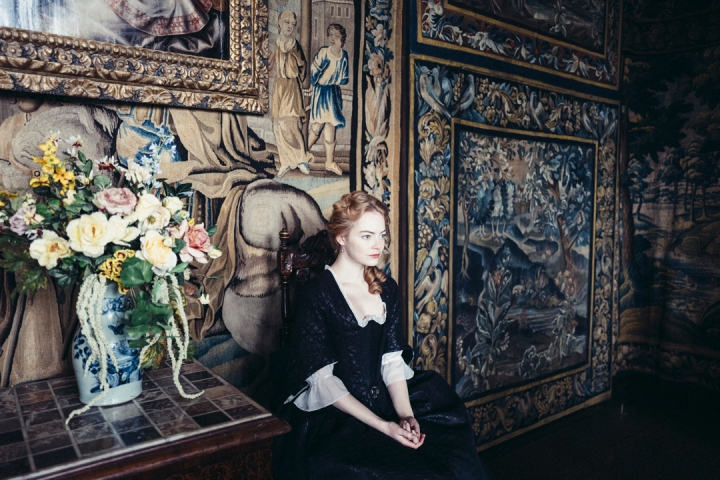 emma stone - THE FAVOURITE _