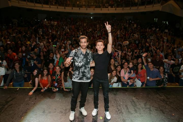 Queretaro, Mexico – May 4, 2019: Jake Gyllenhaal and Tom Holla