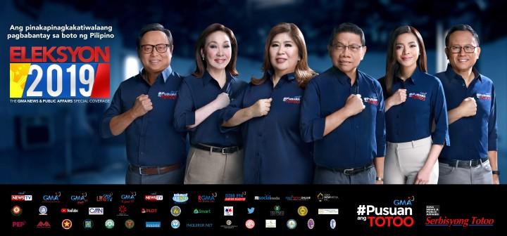 Pinakakomprehensibong coverage ng Eleksyon 2019 hatid ng GMA