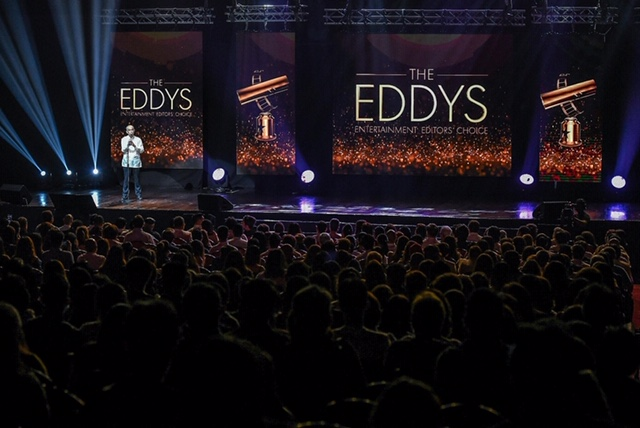The 3rd EDDYs Awards held last month at the New Frontier Theater (courtesy of New Frontier Theater)