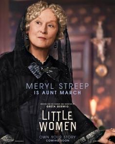 7 - Aunt March - Meryl Streep