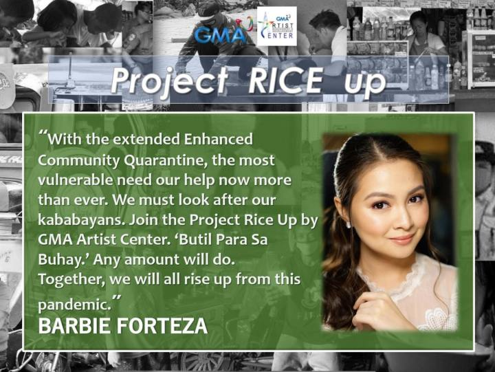 Barbie Forteza - Project RICE Up