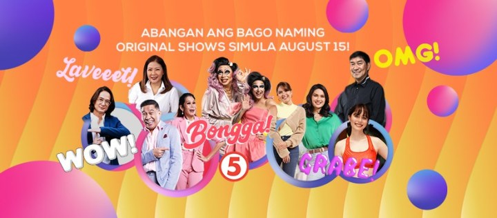 TV5 NEW SHOWS