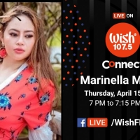 Marinella Moran talks about her movie and music career on Wish 107.5